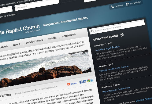 Develop a Web Site for Your Church